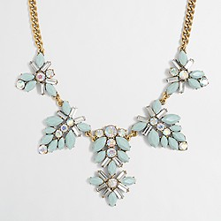 Factory gemstone blossoms necklace
