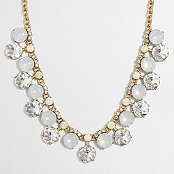 Factory crystal drop necklace