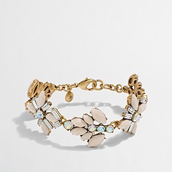 Factory gemstone blossoms bracelet