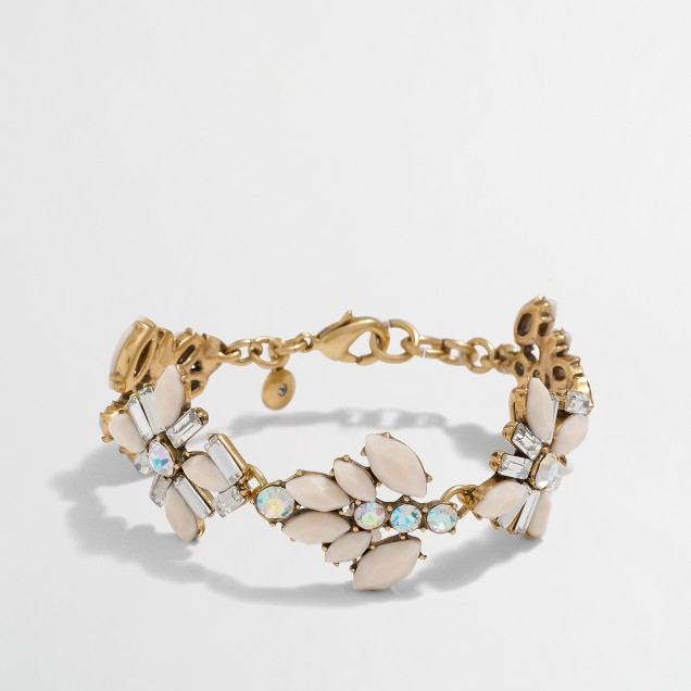 Gemstone blossoms bracelet