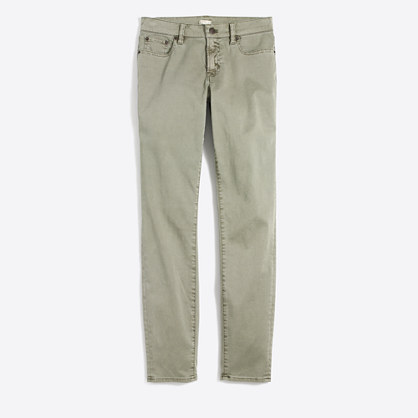 """Sateen skinny jean with 28"""" inseam"""