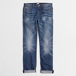 Factory Field Wash boyfriend jean