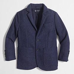 Boys' tweed blazer