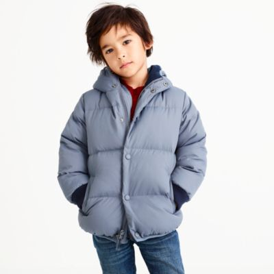 Boys' marshmallow puffer coat