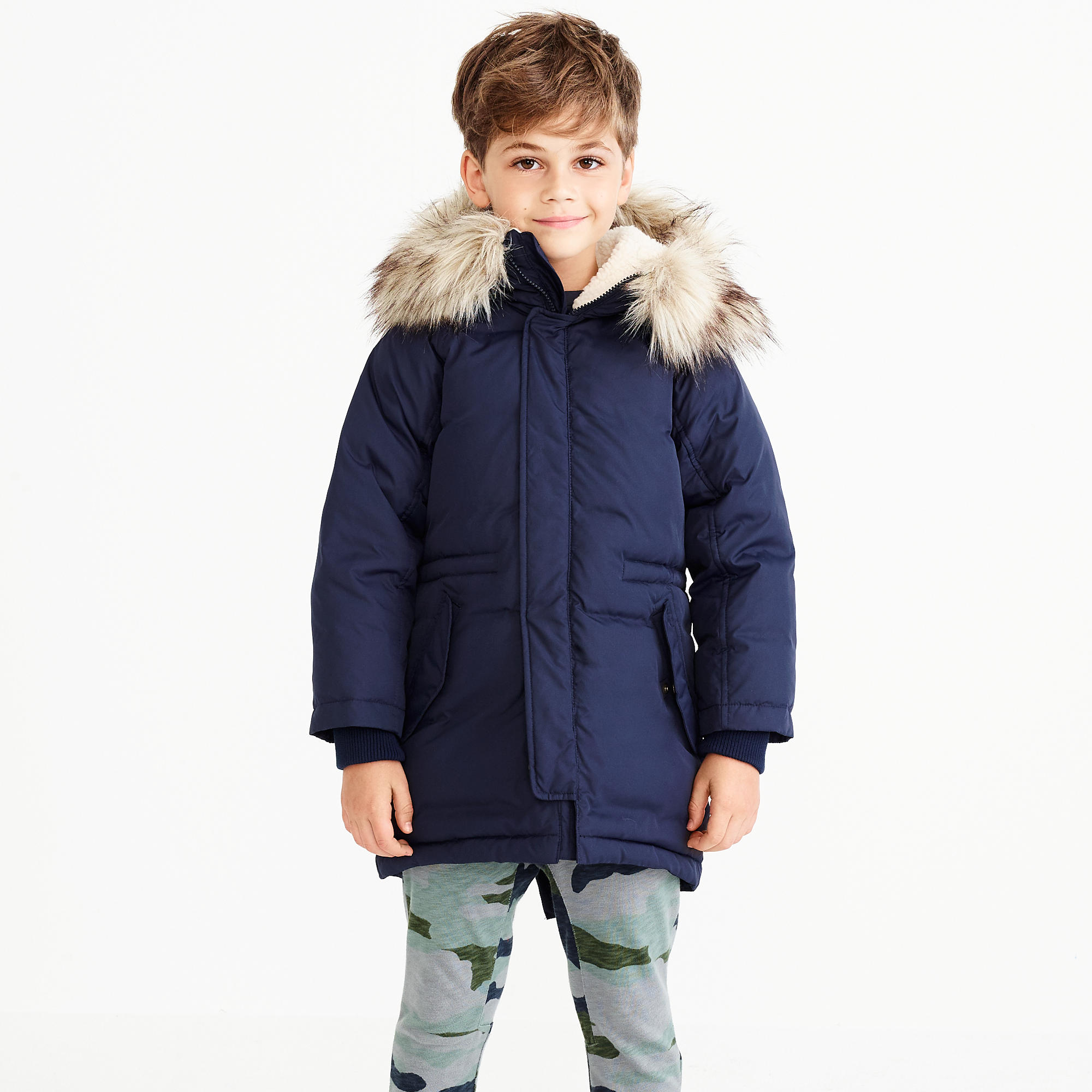 Boys' fishtail parka : FactoryBoys Coats & Jackets | Factory