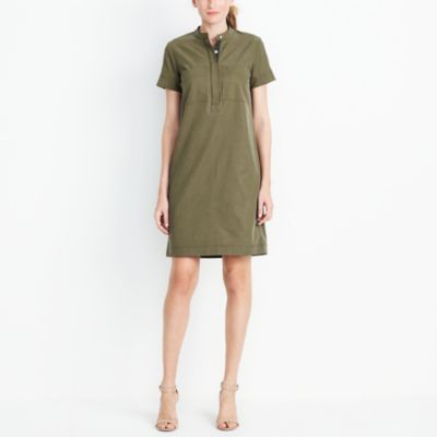 Fatigue shirtdress