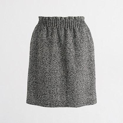 Herringbone sidewalk skirt