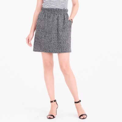 Herringbone sidewalk mini skirt
