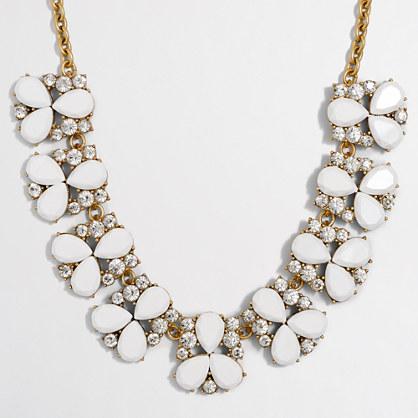 Stone trios necklace