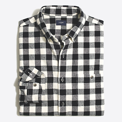 Plaid rugged elbow patch shirt rugged elbow patch j for Mens flannel shirt with elbow patches