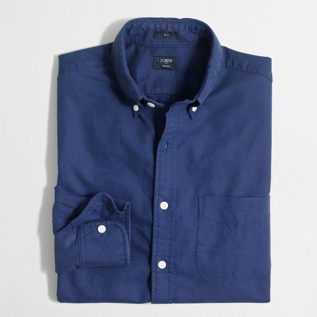 Tonal oxford shirt