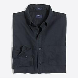 Slim tonal oxford shirt