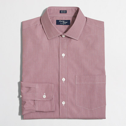 Patterned Thompson dress shirt