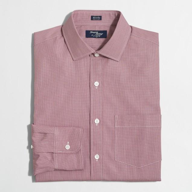 Patterned Thompson dress shirt