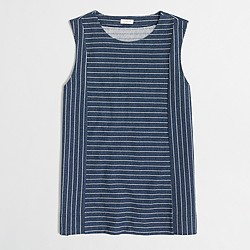 Factory multistriped tank top