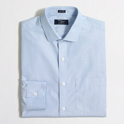 Wrinkle free voyager dress shirt shirts j crew factory Best wrinkle free dress shirts