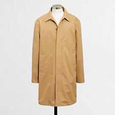 Thompson Water-Resistant Twill Trench Mens Coat
