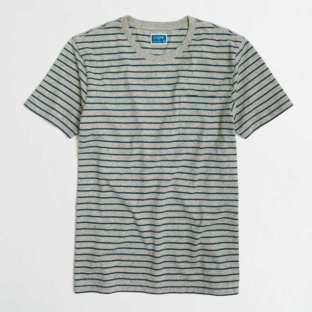 Tall striped T-shirt