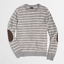 Donegal striped crewneck sweater