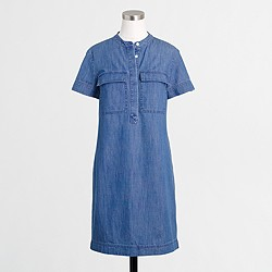 Factory chambray dress