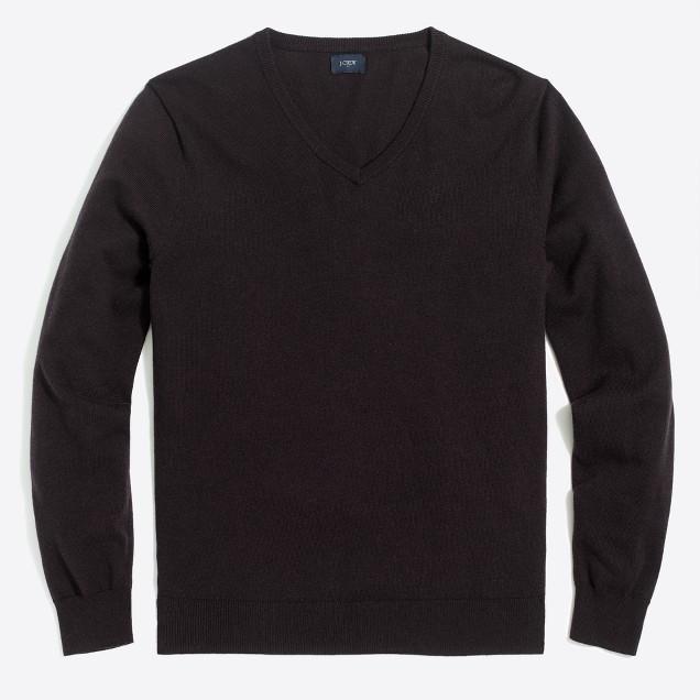 Harbor cotton V-neck sweater