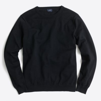 Harbor cotton crewneck sweater factorymen online exclusives c
