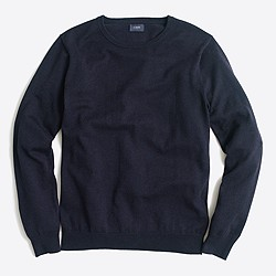 Slim harbor cotton crewneck sweater