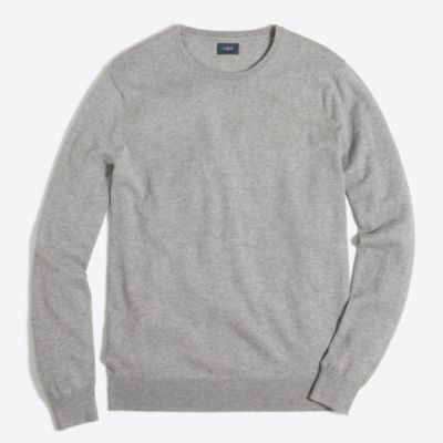 Tall harbor cotton crewneck sweater