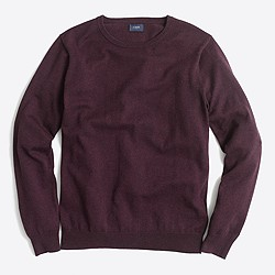 Slim harbor cotton crewneck sweater