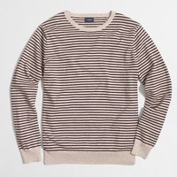 Harbor cotton striped crewneck sweater