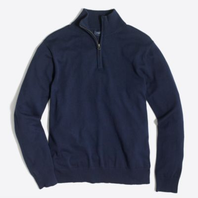 Harbor cotton half-zip sweater factorymen sweaters c