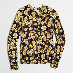 Floral Caryn cardigan sweater