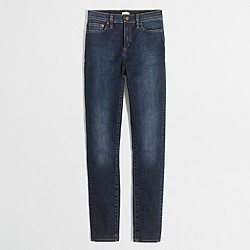 "Factory Derby Wash high-rise skinny jean with 28"" inseam"