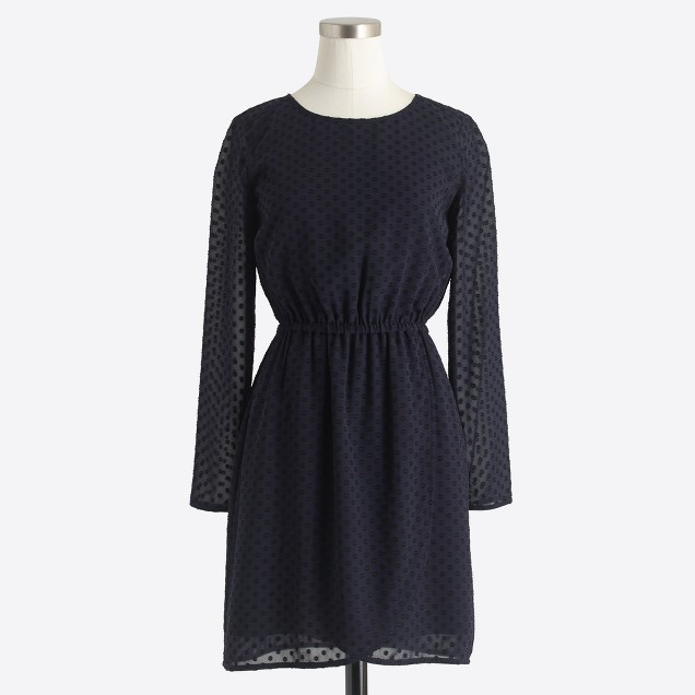 Clip-dot dress