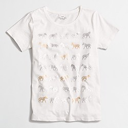 Zebra parade collector T-shirt
