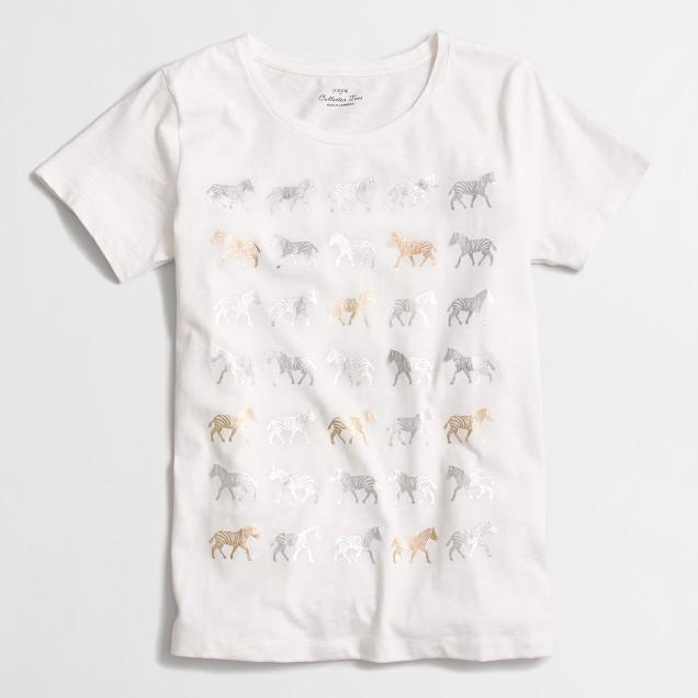 Zebra parade collector T-shirt