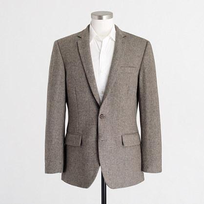 Thompson suit jacket in bird's-eye wool