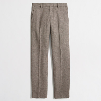 Slim Thompson suit pant in bird's-eye wool