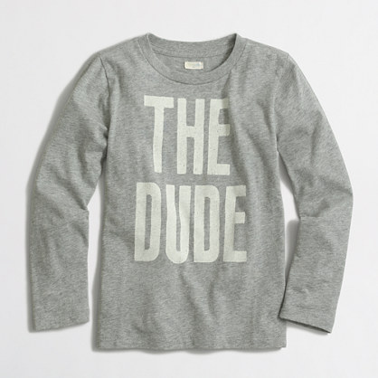 Boys' long-sleeve the dude storybook T-shirt
