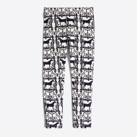 Girls' wild horses leggings
