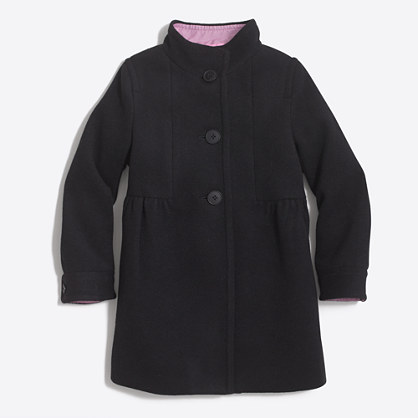 Girls' wool dress jacket
