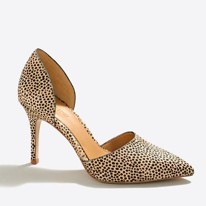 Lana calf hair d'Orsay pumps