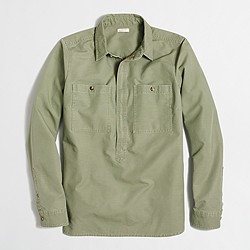 Heavyweight shirt-jacket