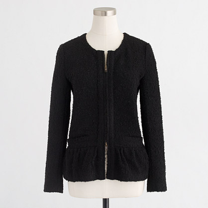 Bouclé lady jacket