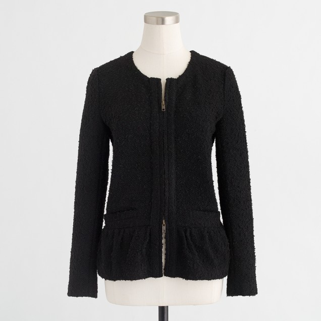 Bouclé lady jacket