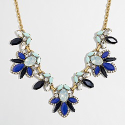Factory petal gems necklace