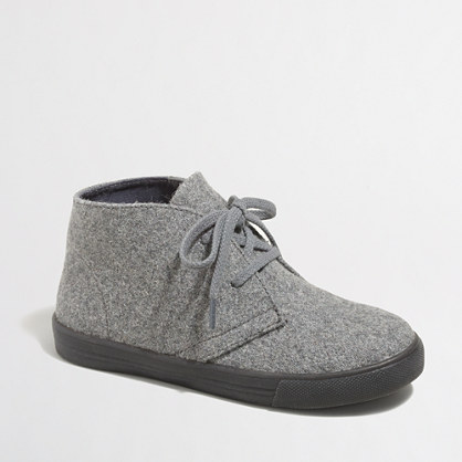Boys' wool Calvert sneakers