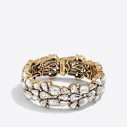 Factory crystal puzzle bracelet