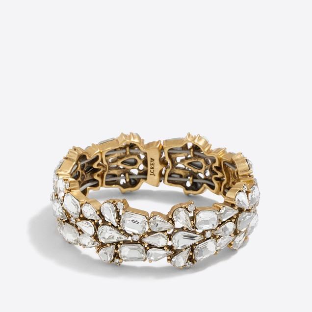 Crystal puzzle bracelet