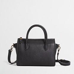 Factory mini cross-body satchel